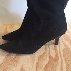 Anne Klein Black Tall Boots